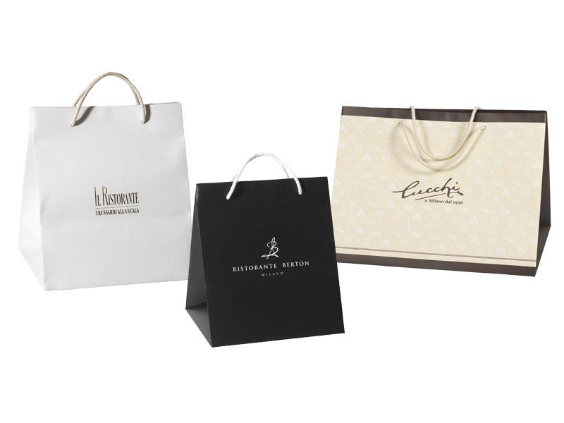 Sacchetti e shoppers personalizzati