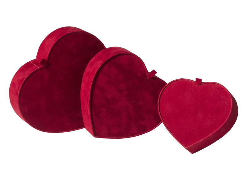 Scatole speciali a forma di cuore