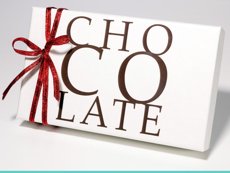 Scatole rivestite - Collezione Chocolate - Bianco